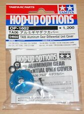 Tamiya 54602 TA06 Aluminum Gear Differential Unit Cover (M07/TRF211XM/XV-01) NIP