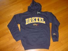 DU DREXEL DRAGONS   EMBROIDERED Hooded Sweatshirt NEW TAGS  sz...... MEDIUM
