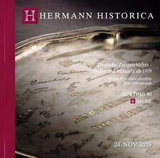 MILITARIA DEUTSCHLAND, ab 1919, WK 2: Hermann Historica 19 +results