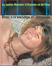 ▬►Elle 809 (1961) FRANÇOISE SAGAN_EMMANUELLE RIVA_MODE FASHION VINTAGE