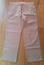 George Men's Straight Jeans W34 L29 Beige