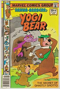 HANNA-BARBERA'S YOGI BEAR#1 VF/NM 19771  MARVEL BRONZE AGE COMICS