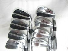 Titleist 714 MB Forged 3-PW Iron Set - DG S300 Stiff flex Steel Irons Used RH