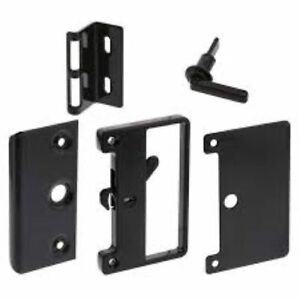 Sliding Screen Door Lock - BASS LATCH - with Outer Handle and Snib - WHITCO