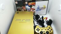 PS2 Console Hyakushiki Gundam Gold & FF10, Winning Eleven, Powerful Pro Baseball