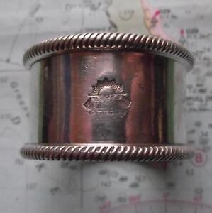 c1920 Orient Line Steam Navigation P & O Company Napkin Ring No 255