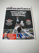 Maires de France n°346 mai 2017 ( Cirques Fêtes Foraines Bâtiments publics