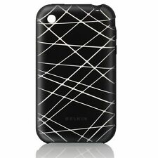 HOUSSE SILICONE BELKIN NOIR RAYURE  IPHONE 3G / 3GS  -  NEUF