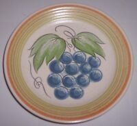 FRANCISCAN POTTERY FRUIT BREAD PLATE!