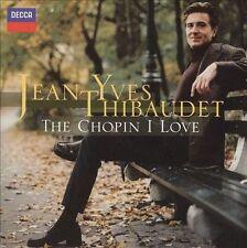 Jean Yves Thibaudet - The Chopin I Love - CD