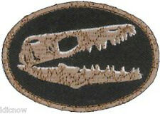 """Fossil Embroidered Patch 7 X 5 CM(2 3/4"""" X 1 3/4"""")"""