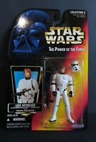 1996 Kenner Star Wars Luke Stormtrooper  Red Card Power of the Force 3.75 Figure