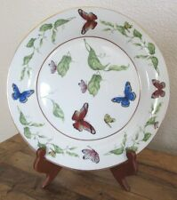 "I. Godinger & Co. Butterfly Gold Trim 10.5"" Plate"