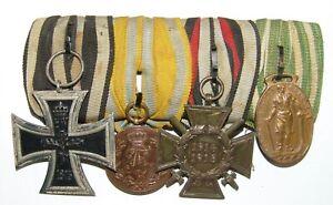 Ordensspange Spange Auszeichnungen 1. WK Eisernes Kreuz IHK Chemnitz Sachsen
