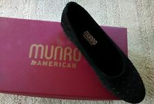 Munro American aubrey black single LEFT Shoe only slip-on leather Size 7 MED NEW