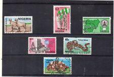 Nigeria Valores del año 1984-86 (DK-140)