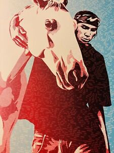 "Shepard Fairey Obey Giant ""Pine Ridge We Are Still Here"" Ltd Ed Fine Art Print"
