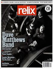 "RELIX #246 ""Dave Matthews Band,Tame Impala,Antibalas,J.Marr"" (Revue US)"