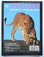 "Presse - Magazine - Revue ANIMAN - ""Nature et Civilisations"" - n° 44 - 1994"