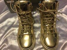 Men's New Giuseppe Zanotti Design London Tr Donna Mirro Finish  Shoes