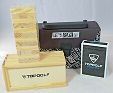 Top Golf - Let's Play Gift Set (Cards & Tumbling Towers)