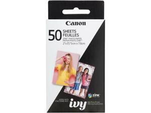 "Canon 2 x 3"" ZINK Photo Paper Pack 50 Pieces Model 3215C001"