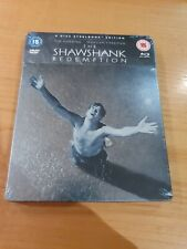 The Shawshank Redemption Steelbook (Region B) 4 Disc Blu-ray + DVD + FREE POST