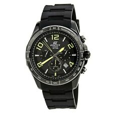 CASIO Mens 'Edifice' Chronograph Black Watch 43mm 130047