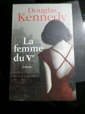 LIVRE DOUGLAS KENNEDY, LA FEMME DU V°, LIBRO, BOOK