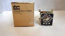 NEW IN BOX ITC INDUSTRIAL TIMER COMPANY MODEL SCF-15 MIN TIMER 120V