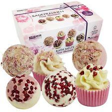 BRUBAKER Boules de bain 'Pink Moments' - 6 Pièces - Coffret cadeau - Vegan
