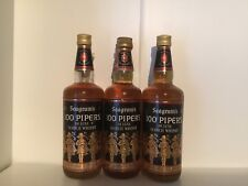 SEAGRAM'S 100 PIPERS LUXE SCOTCH WHISKY 75 CL GRADI 43% 3 BOTTIGLIE VINTAGE