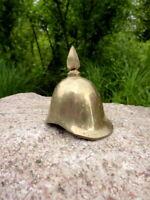 alter Flaschenöffner Kapselheber Pickelhaube Soldatenhelm Messing Sammlerstück