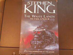 The Waste Lands - Dark Tower Three by Stephen King (US Revised Hardback, 2003)