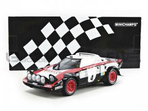 Lancia Stratos HF rally 1976 san remo limitado 1.999 Sun Star 1:18 OVP nuevo