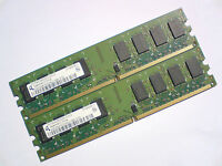 4GB 2x2GB DDR2-800 PC2-6400 240pin 800Mhz QIMONDA PC DESKTOP RAM Arbeitsspeicher
