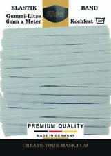 Breite Borten & Bänder zum Annähen aus Gummi
