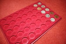 COIN TRAY/PLATTER FOR 40 COINS OR PLASTIC CAPSULES-NO COINS INCLUDE/DISPLAY ONLY