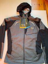 New $150 Men Mountain Hardwear Super Power Hoody Black Jacket Sz S REI NorthFace