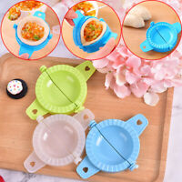 Eco-Friendly Pastry Tools Plastic Dumpling Maker Cutter Mould Kitchen Suppl a Cw