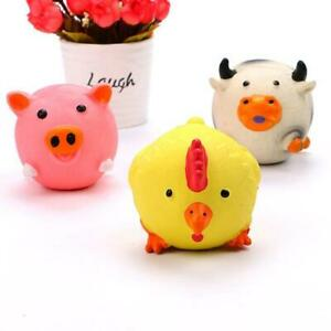 Dog Resistant Toys Pet Game Ball Remove Boredom Latex Chicken Vocal Toy W