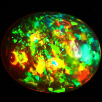 10x8 MM OVAL TOP SUPER RAINBOW ELECTRIC ETHIOPIAN FIRE WELO OPAL WHOLESALE PRICE