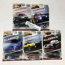 5 Car Set * Hot Wheels MODERN CLASSICS Car Culture K Case * C2