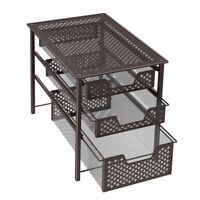 NEX 3-tier Drawer rack Countertop Storage Organizer Spic rack Kitchen,Bathroom