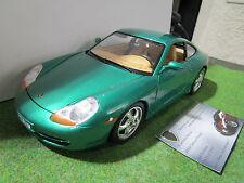 PORSCHE 911 CARRERA type ( 996 ) 1997 Vert au 1/18 BURAGO voiture miniature