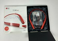 LG Tone Pro LBT-780 Wireless Stereo Bluetooth Headset with Neckband- RED
