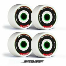 Longboard Rollen 76mm weiss / Longboard wheels 76mm white SpeedThron