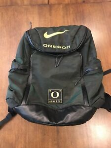 NIKE Oregon Ducks Player Exclusive Team Issued Backpack mint condition Back pack