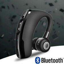 V9 Bluetooth Headset Handsfree Wireless Earpiece Noise Reduction Mic Earbud