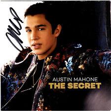AUSTIN MAHONE Autographed THE SECRET Album Booklet! SIGNED!